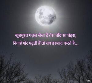 Full Moon Shayari